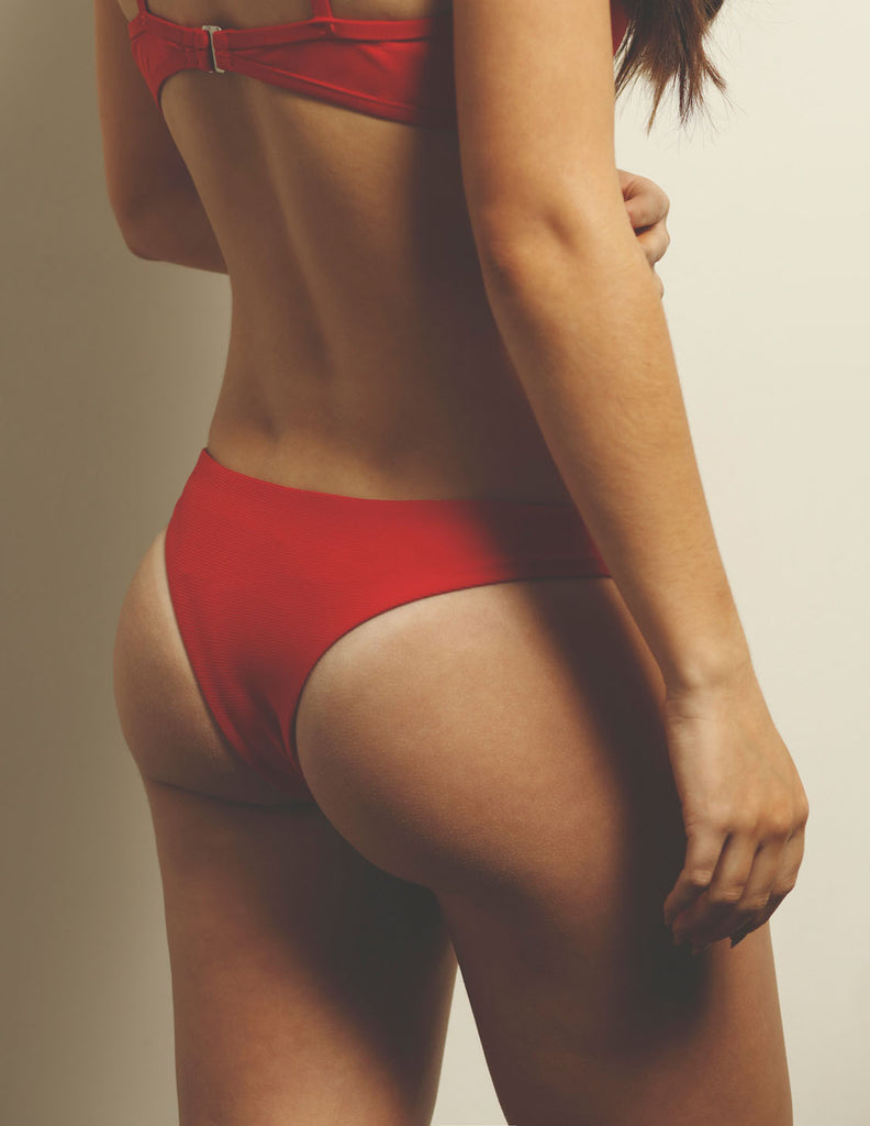 Ali Mini Bottom Red