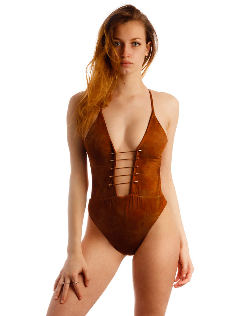 Blue Life Spear One Piece - Bungalow Seven