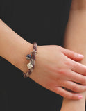 Vanessa Mooney - The Patsy Bracelet- Purple - Bungalow Seven