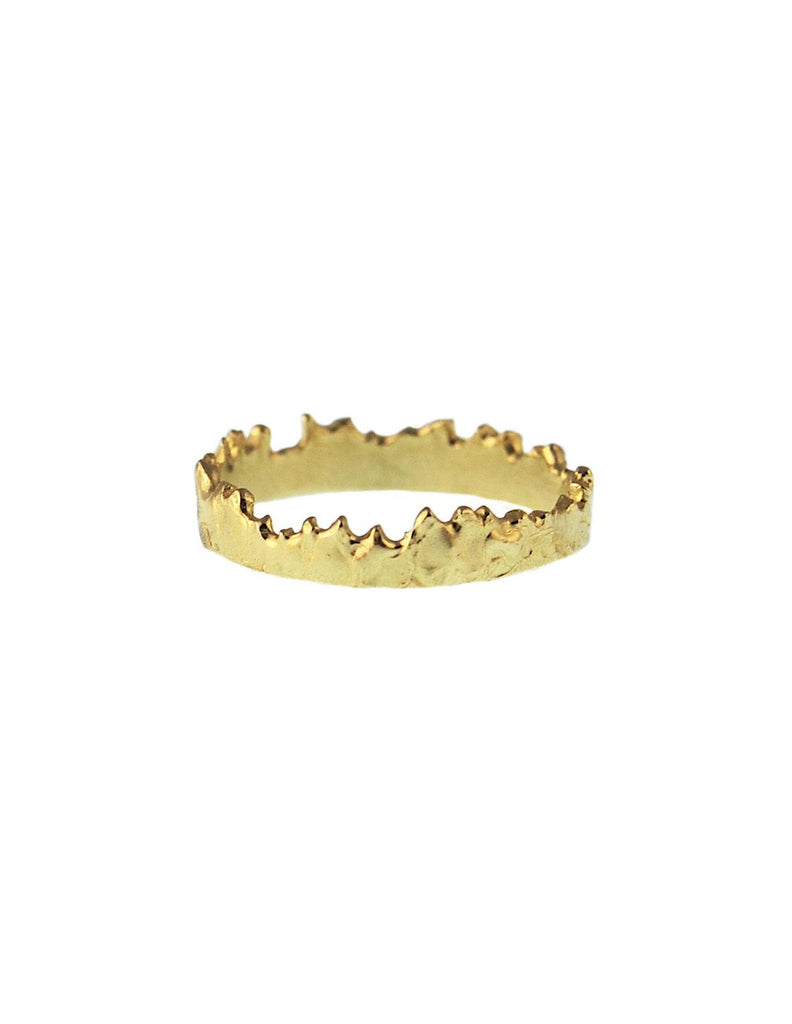 CFD Fine Jewelry - Thin Coastline Stacker 14K Gold - Bungalow Seven