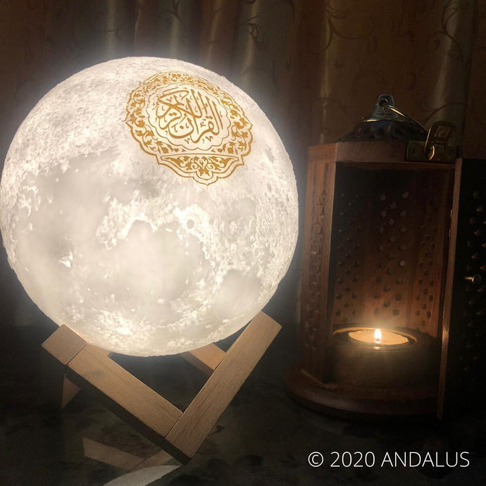 How to set up your Quran Moon lamp - An instructive guide