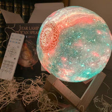 Load image into Gallery viewer, Quran Galaxy Lamp Speaker Islamic star lamp