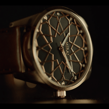 Load image into Gallery viewer, Andalusian Swiss Timepiece - Rose Gold & Black
