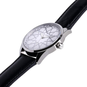 Andalusian Swiss Timepiece - Men Silver & White