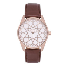 Load image into Gallery viewer, Andalusian Swiss Timepiece - Men Rose Gold & White