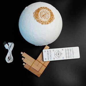 Quran speaker price Islamic moon lamp