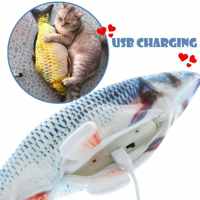 Uzfur™ Cat Fish Kicker Toy