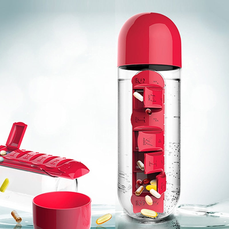 Vitamins & Pills Organizer Bottle