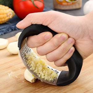 Stainless Steel Premium Garlic Press Rocker (Free Give Away)