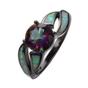 Uzfur™ Fire Opal Ring