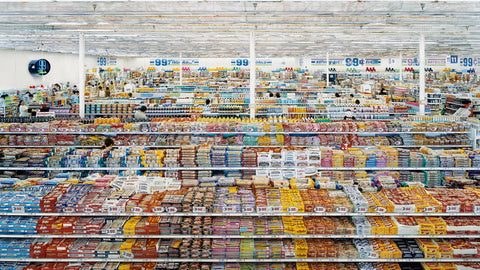 Andreas Gursky 99 cents (1999)