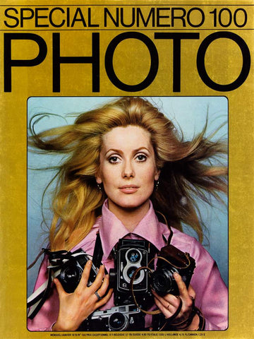 PHOTO MAGAZINE DAVID BAILEY CATHERINE DENEUVE