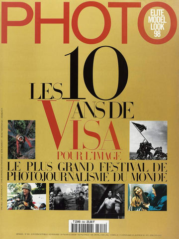 PHOTO MAGAZINE 10 ANS VISA POUR L'IMAGE