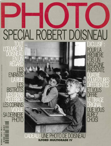 PHOTO MAGAZINE ROBERT DOISNEAU