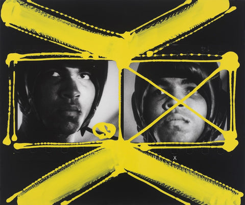 © William Klein / painted Contact Sheet