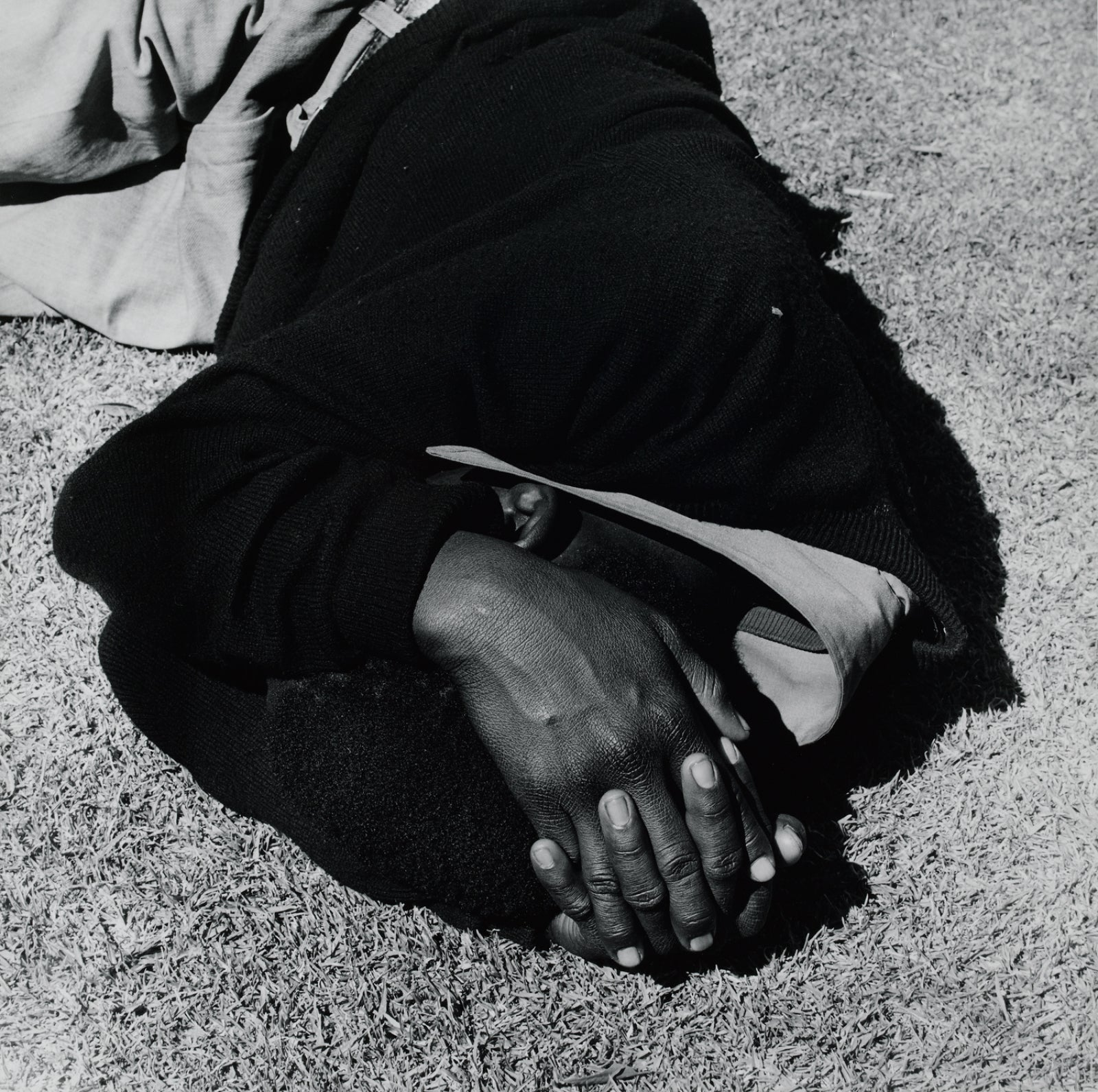 Tate Man Sleeping Joubert Park, Johannesburg David Goldblatt 1975