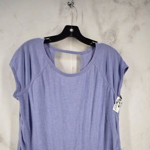 Primary Photo - BRAND: CALVIN KLEIN PERFORMANCE STYLE: ATHLETIC TOP SHORT SLEEVE COLOR: LILAC SIZE: XL SKU: 186-186217-5196