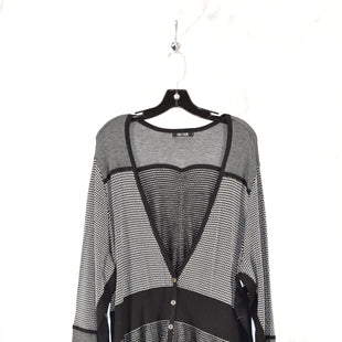 Primary Photo - BRAND: NIC + ZOE STYLE: SWEATER CARDIGAN LIGHTWEIGHT COLOR: BLACK SIZE: 3X SKU: 186-186167-18563