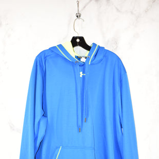 Primary Photo - BRAND: UNDER ARMOUR STYLE: ATHLETIC JACKET COLOR: BLUE SIZE: 2X SKU: 186-186213-3583