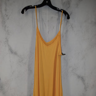 Primary Photo - BRAND:    CLOTHES MENTOR STYLE: DRESS LONG SLEEVELESS COLOR: YELLOW SIZE: 4X OTHER INFO: JUMPSUIT SKU: 186-186217-6434