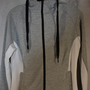 Primary Photo - BRAND:    CLOTHES MENTOR STYLE: ATHLETIC JACKET COLOR: GREY SIZE: L OTHER INFO: ENVYA  - SKU: 186-186106-11351