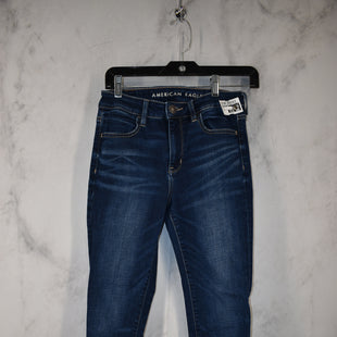 Primary Photo - BRAND: AMERICAN EAGLE STYLE: JEANS COLOR: DENIM SIZE: 4 OTHER INFO: SUPERSTRETCH SKU: 186-186167-30823