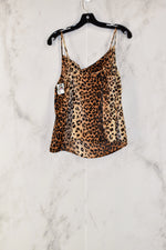Photo #1 - BRAND: HELLO MISS<BR>STYLE: TOP SLEEVELESS<BR>COLOR: ANIMAL PRINT<BR>SIZE: M<BR>SKU: 186-186206-2023