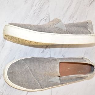Primary Photo - BRAND: TOMS STYLE: SHOES FLATS COLOR: GREY SIZE: 9 SKU: 186-186167-28052