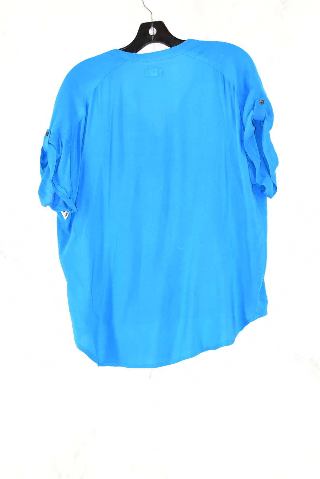 Photo #1 - BRAND: ODILLE<BR>STYLE: TOP SHORT SLEEVE<BR>COLOR: BLUE<BR>SIZE: S<BR>SKU: 186-186167-13394