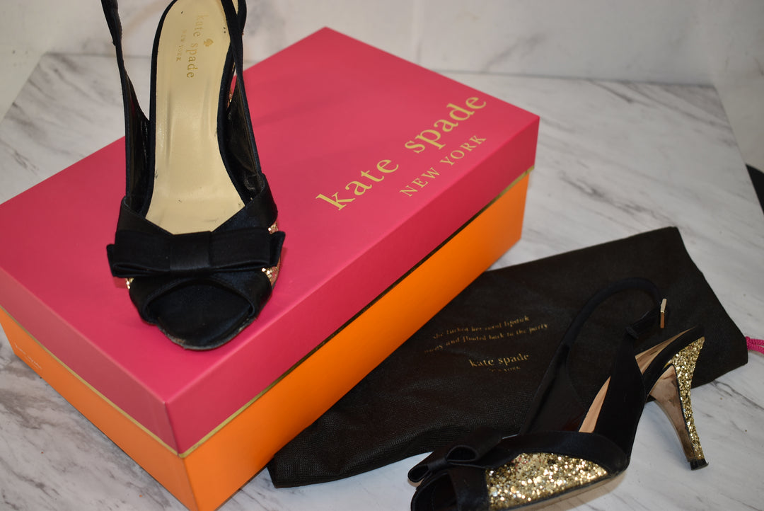 Primary Photo - BRAND: KATE SPADE <BR>STYLE: SHOES LOW HEEL <BR>COLOR: BLACK <BR>SIZE: 7 <BR>SKU: 186-186227-202