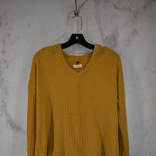 Primary Photo - BRAND: CUPIO STYLE: SWEATSHIRT HOODIE COLOR: MUSTARD SIZE: S SKU: 186-186217-7708