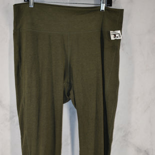 Primary Photo - BRAND: OLD NAVY STYLE: ATHLETIC PANTS COLOR: GREEN SIZE: 2X SKU: 186-186199-474