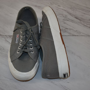 Primary Photo - BRAND: SUPERGA STYLE: SHOES ATHLETIC COLOR: GREY SIZE: 7 SKU: 186-186167-30231