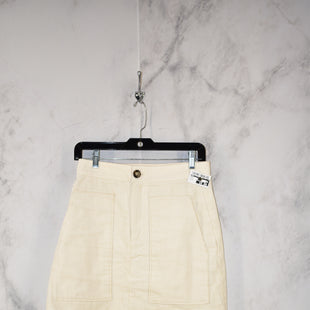 Primary Photo - BRAND: H&M STYLE: SKIRT COLOR: CREAM SIZE: 6 SKU: 186-186167-27878