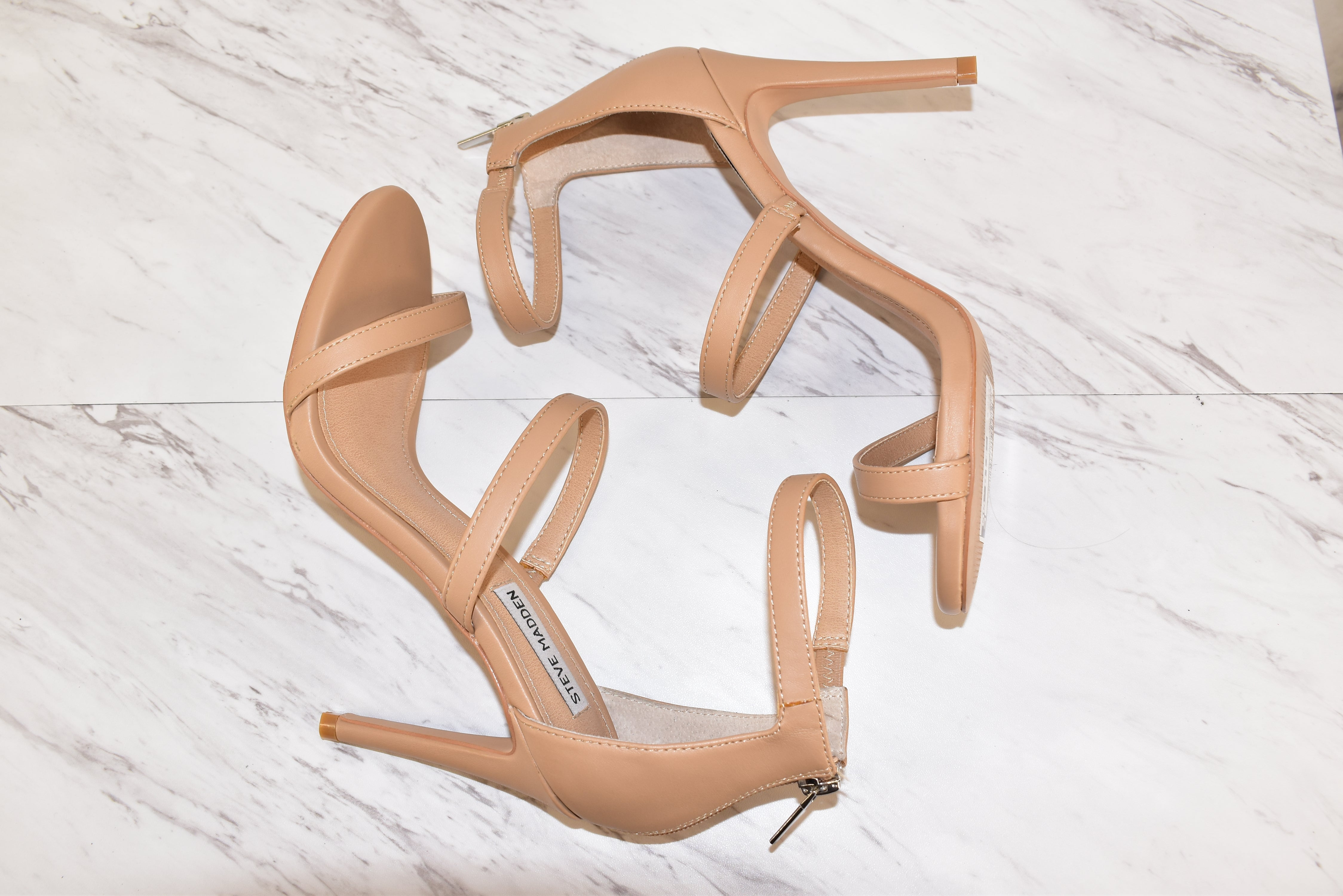 Photo #1 - BRAND: STEVE MADDEN <BR>STYLE: SHOES LOW HEEL <BR>COLOR: NUDE <BR>SIZE: 8.5 <BR>SKU: 186-186167-22236