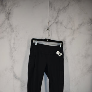Primary Photo - BRAND: YOGALICIOUS STYLE: ATHLETIC PANTS COLOR: BLACK SIZE: L SKU: 186-186199-358