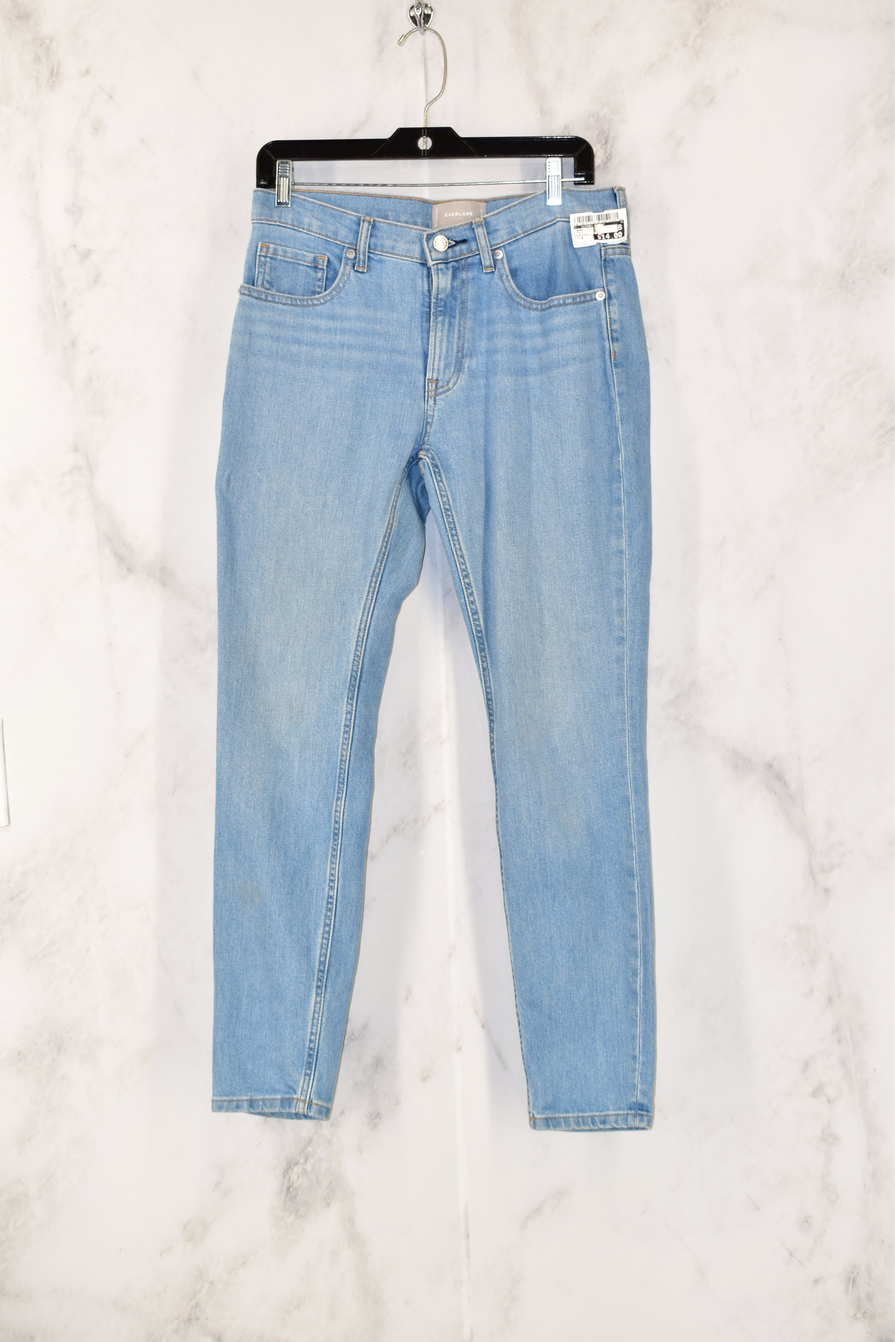 Primary Photo - BRAND:    CLOTHES MENTOR<BR>STYLE: JEANS<BR>COLOR: DENIM<BR>SIZE: 6<BR>OTHER INFO: EVERLANE -<BR>SKU: 186-186167-21641