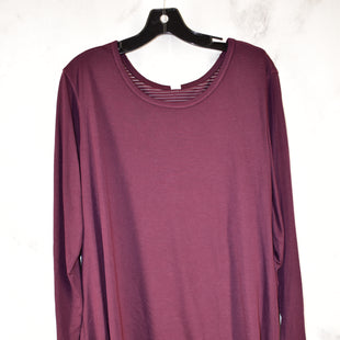 Primary Photo - BRAND: OLD NAVY STYLE: ATHLETIC TOP COLOR: MAROON SIZE: 2X SKU: 186-186217-5153