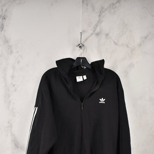 Primary Photo - BRAND: ADIDAS STYLE: ATHLETIC JACKET COLOR: BLACK SIZE: L SKU: 186-186217-7017