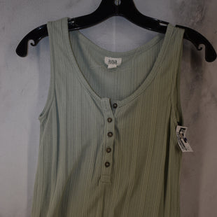 Primary Photo - BRAND: ANA STYLE: TOP SLEEVELESS COLOR: GREEN SIZE: M SKU: 186-186230-24