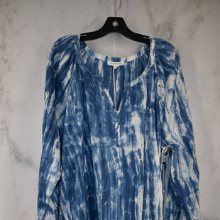 Primary Photo - BRAND: BEACHLUNCHLOUNGE STYLE: TOP LONG SLEEVE COLOR: BLUE SIZE: 2X OTHER INFO: NEW! SKU: 186-186217-7138