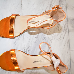 Primary Photo - BRAND: ASHLEY STEWART STYLE: SHOES HIGH HEEL COLOR: ORANGE SIZE: 9 SKU: 186-186217-4902