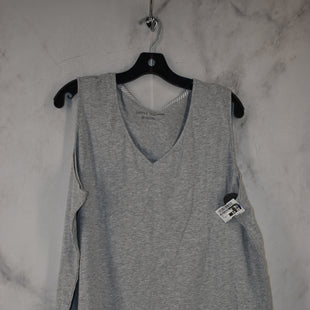 Primary Photo - BRAND: CAROLE HOCHMAN STYLE: TOP SLEEVELESS BASIC COLOR: GREY SIZE: 2X SKU: 186-186217-7697