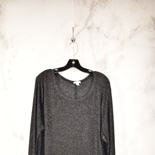 Primary Photo - BRAND: OLD NAVY STYLE: TOP LONG SLEEVE COLOR: BLACK SIZE: 2X SKU: 186-186217-3527
