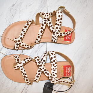 Primary Photo - BRAND: GIANNI BINI STYLE: SANDALS FLAT COLOR: ANIMAL PRINT SIZE: 5 SKU: 186-186213-7106