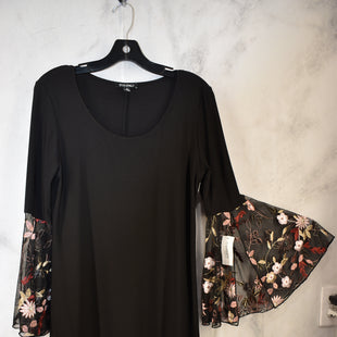 Primary Photo - BRAND: ROZ AND ALI STYLE: DRESS SHORT LONG SLEEVE COLOR: BLACK SIZE: M SKU: 186-186230-63