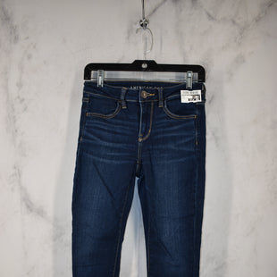Primary Photo - BRAND: AMERICAN EAGLE STYLE: JEANS COLOR: DENIM SIZE: 4 OTHER INFO: NE(X)T LEVEL SKU: 186-186167-30821