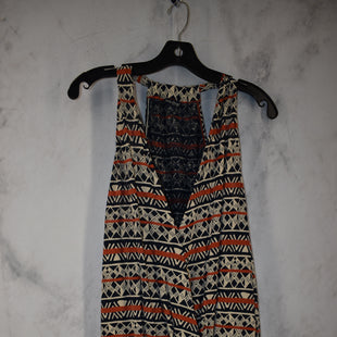 Primary Photo - BRAND: LUCKY BRAND STYLE: TOP SLEEVELESS COLOR: ORANGE BLUE SIZE: XL SKU: 186-186167-30094