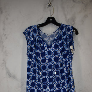 Primary Photo - BRAND: LIZ CLAIBORNE STYLE: TOP SLEEVELESS COLOR: BLUE SIZE: M SKU: 186-186167-30108