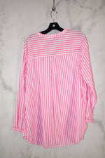 Photo #1 - BRAND: OLD NAVY <BR>STYLE: TOP LONG SLEEVE <BR>COLOR: PINK <BR>SIZE: XL <BR>SKU: 186-186179-12332